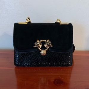 Double Panther Crossbody Bag